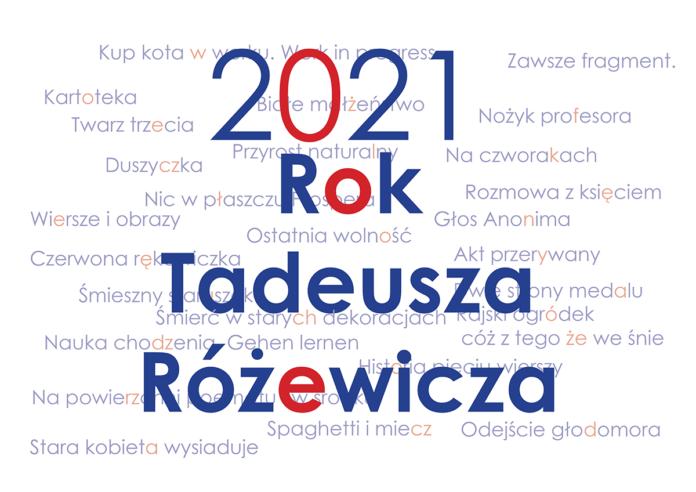 Zimoch rok Różewicza 2021